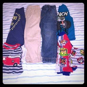 Lot of 4T Boy's Clothes